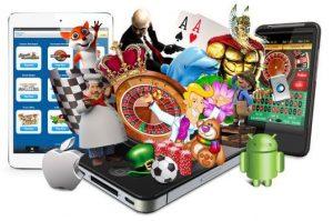 mobiilikasino puhelin iOS Android